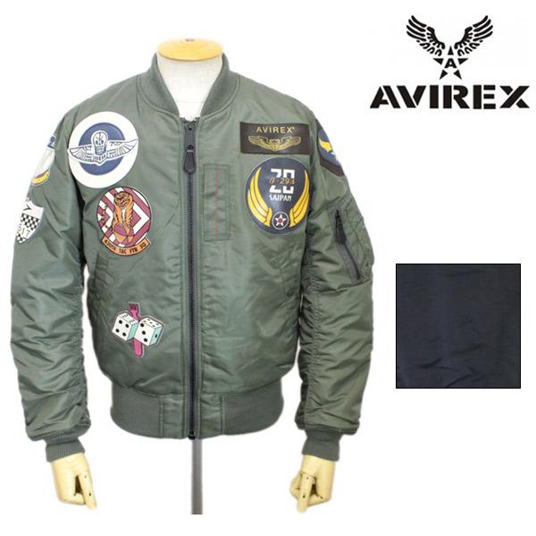 正規取扱店 AVIREX(アビレックス) MA-1 TOP GUN(MA-1トップガン) 全2色
