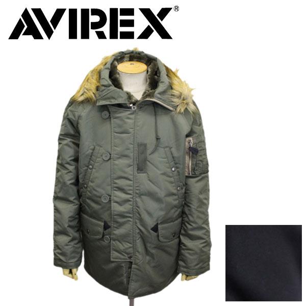 正規取扱店 AVIREX (アヴィレックス) 6152175 N-3B COMMERCIAL (FAKE FUR) フライトジャケット 全2色