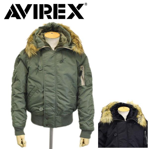 正規取扱店 AVIREX (アヴィレックス) 6152176 N-2B COMMERCIAL (FAKE FUR) フライトジャケット 全2色