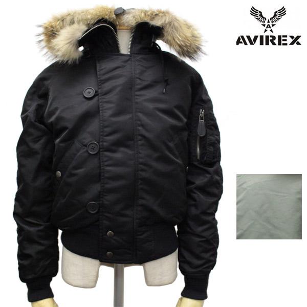 正規取扱店 AVIREX(アビレックス) N-2B COMMERCIAL REALFUR(コマーシャル リアルファー フライトジャケット) 全2色