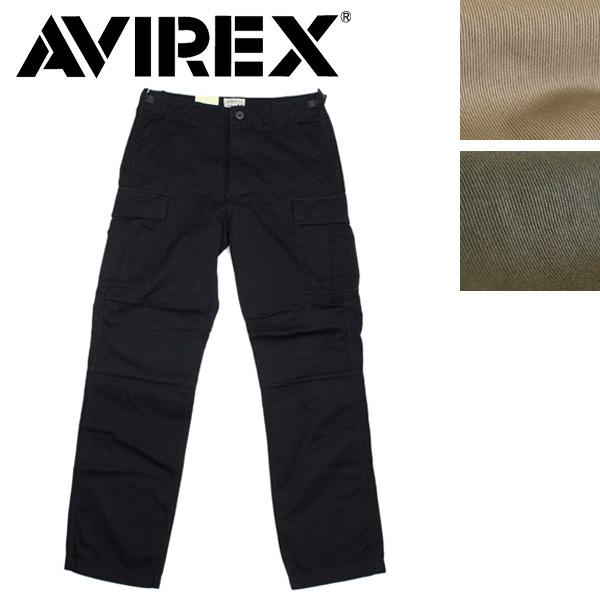 正規取扱店 AVIREX (アヴィレックス) FATIGUE PANTS ファティーグパンツ 全3色