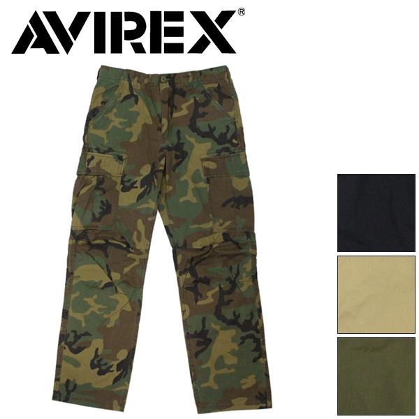 正規取扱店 AVIREX (アヴィレックス) 6176084 COTTON RIPSTOP FATIGUE PANTS コットン リップストップ ファティーグ パンツ 全4色
