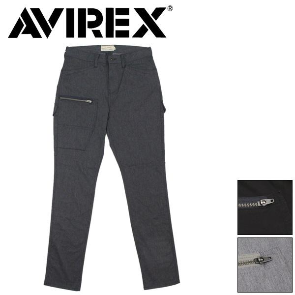 正規取扱店 AVIREX (アヴィレックス) 6176108 CIRCLE STRETCH 7POCKET PANTS サークルストレッチ 7ポケットパンツ 全3色