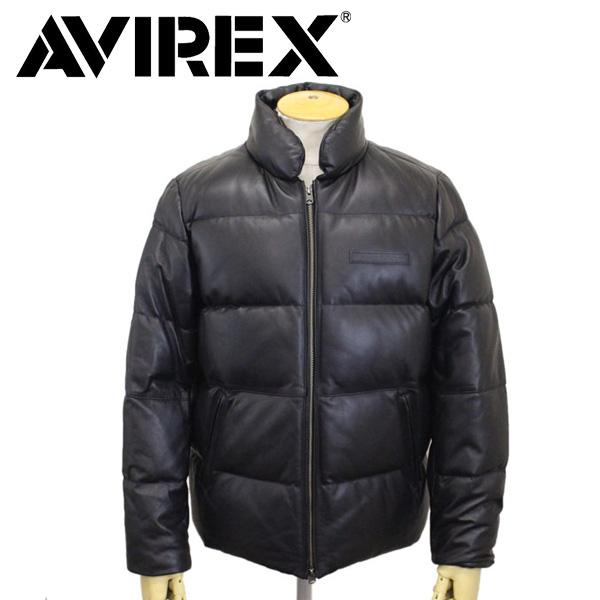 正規取扱店 AVIREX (アヴィレックス) 6181057 SHEEP DOWN JKT シープダウンジャケット 09BLACK