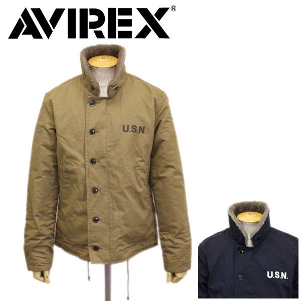 正規取扱店 AVIREX (アヴィレックス) 6182174 N-1 PLANE プレーン デッキジャケット 全2色