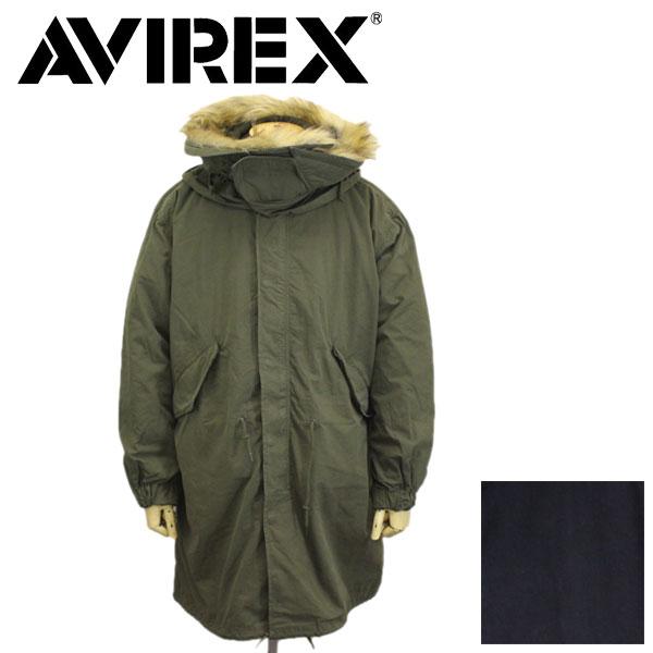 正規取扱店 AVIREX (アヴィレックス) 6182221 M-65 PARKA ミリタリーパーカー モッズコート 全2色