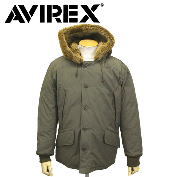 正規取扱店 AVIREX (アヴィレックス) 6192159 B-9 DOWN JKT B-9 ダウンジャケット 75OLIVE