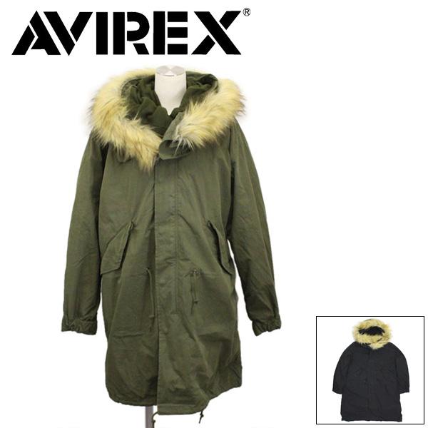 正規取扱店 AVIREX (アヴィレックス) 6282057 M-65 PARKA レディース フィールドパーカー 全2色