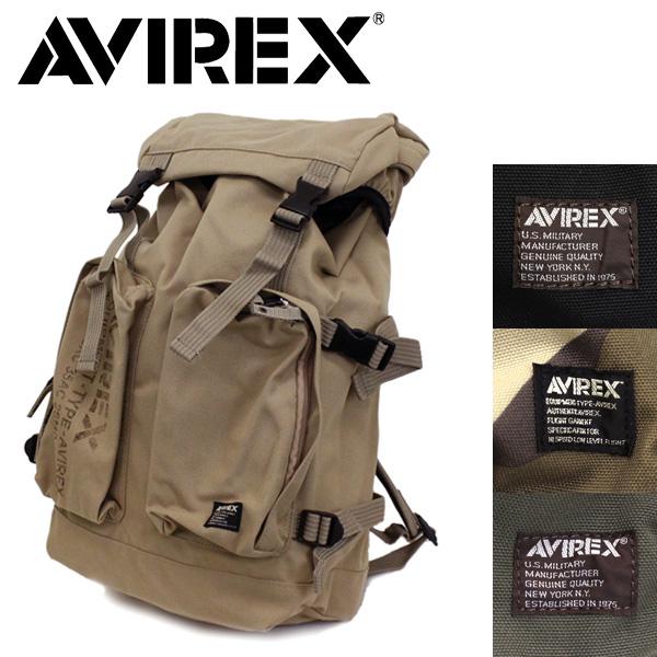 正規取扱店 AVIREX (アヴィレックス) AVX3511 リュック バックパック 全4色