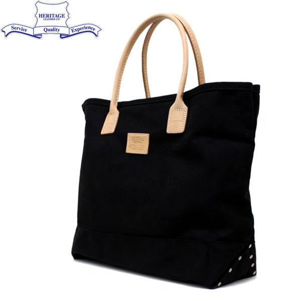 正規取扱店 HERITAGE LEATHER CO.(ヘリテージレザー) NO.7717 Tote Bag(トートバッグ) Black/Black HL022