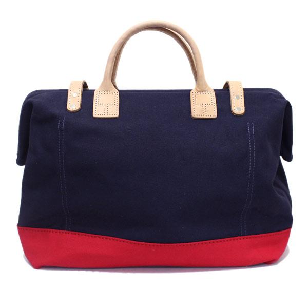 日本国内航运和 COD 费免费定期处理店皮革遗产有限公司 (遗产皮革) 袋的 NO.7725 梅森 (梅森袋) 海军/红 HL080