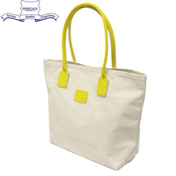 正規取扱店 HERITAGE LEATHER CO.(ヘリテージレザー) NO.8178 Tote Bag(トートバッグ) Natural/Yellow HL143
