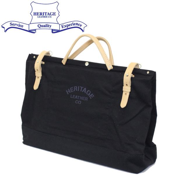"""正規取扱店 HERITAGE LEATHER CO.(ヘリテージレザー) NO.8288 20"""" Utility Art Bag 20インチユーティリティアートバッグ Black HL218"""