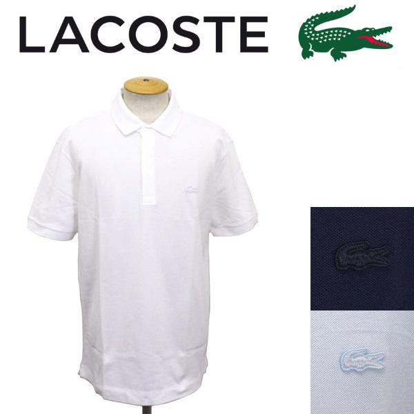 正規取扱店 LACOSTE (ラコステ) PH5522 PIQUE STRETCH レギュラーフィット ポロシャツ 全3色 LC111