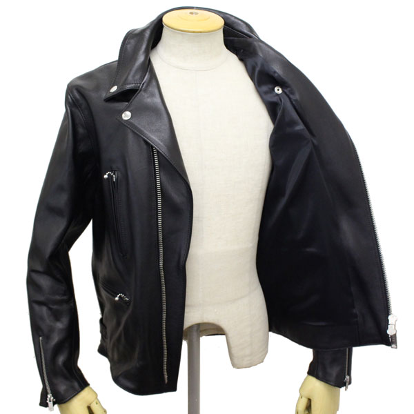 a51697896 Japan domestic shipping & cash on delivery fee free regular instruction  store 666 LJM-1TFBS TIGHT FIT BACKSIDE U..side BELT LEATHER JACKET ...