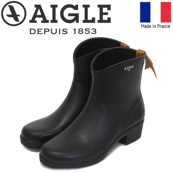 正規取扱店 AIGLE (エーグル) ZZF8891 MS JULIETTE BT2 ジュリエット レディース ラバーブーツ 009 NOIR フランス製 AGL017