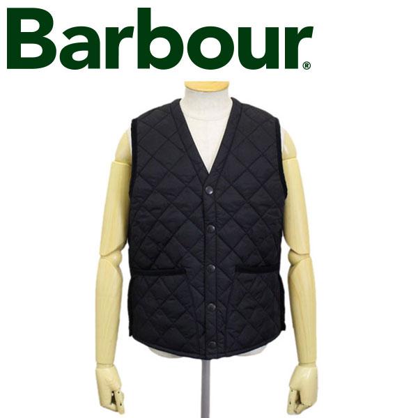 正規取扱店 BARBOUR (バブアー バブワー) 43639-009 QUILT VEST キルトベスト BLACK BBR009
