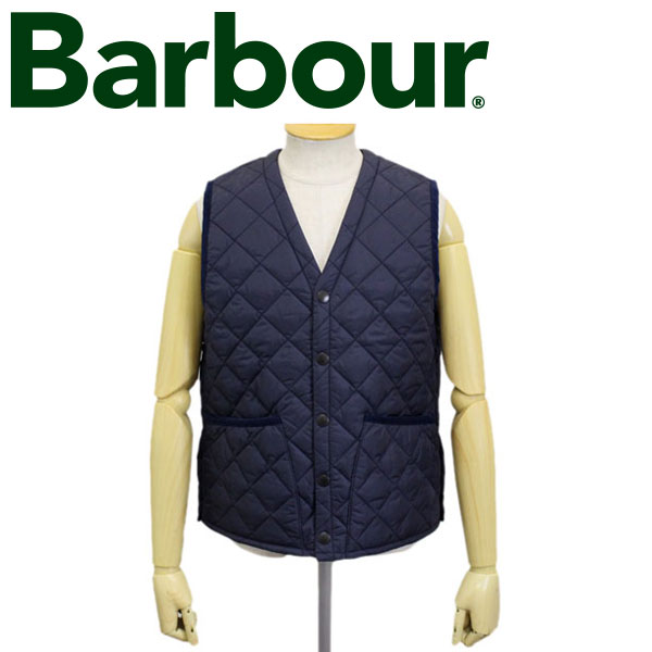 正規取扱店 BARBOUR (バブアー バブワー) 43639-087 QUILT VEST キルトベスト NAVY BBR011