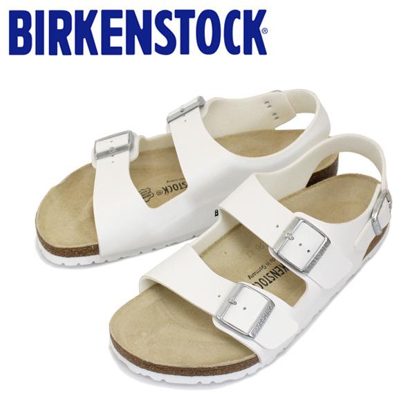 正規取扱店 BIRKENSTOCK (ビルケンシュトック) MILANO (ミラノ) ビルコフロー サンダル レギュラー(幅広) ホワイト BI063