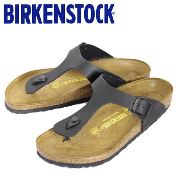 正規取扱店 BIRKENSTOCK (ビルケンシュトック) GIZEH (ギゼ) サンダル レギュラー (幅広) BLACK (ブラック) BI005