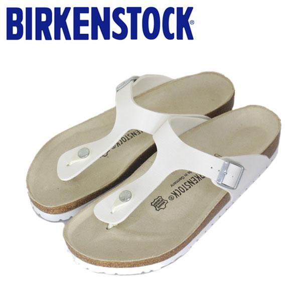 正規取扱店 BIRKENSTOCK (ビルケンシュトック) GIZEH (ギゼ) サンダル レギュラー (幅広) ホワイト (WHITE) BI008