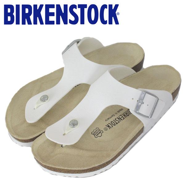 正規取扱店 BIRKENSTOCK (ビルケンシュトック) RAMSES (ラムゼス) サンダル レギュラー (幅広) WHITE (ホワイト) BI009