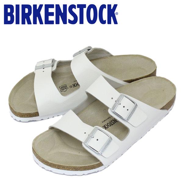 正規取扱店 BIRKENSTOCK (ビルケンシュトック) ARIZONA (アリゾナ) スムースレザー サンダル レギュラー(幅広) WHITE(ホワイト) BI034