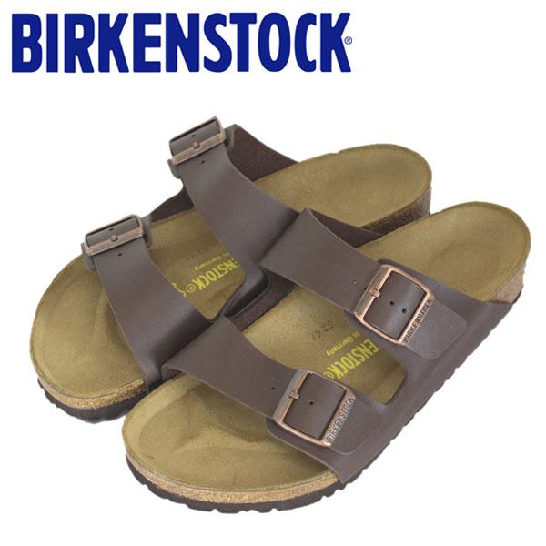 正規取扱店 BIRKENSTOCK (ビルケンシュトック) ARIZONA (アリゾナ) サンダル レギュラー (幅広) DARK BROWN (ダークブラウン) BI011