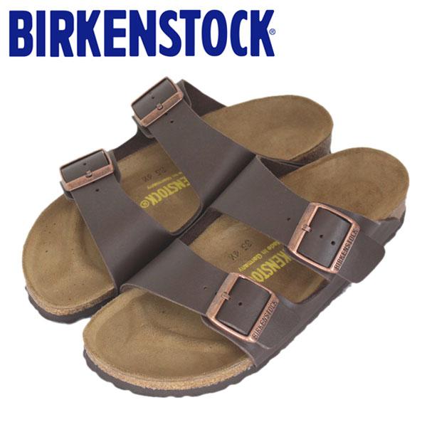 正規取扱店 BIRKENSTOCK (ビルケンシュトック) ARIZONA (アリゾナ) サンダル ナロー (幅狭) DARK BROWN (ダークブラウン) BI012