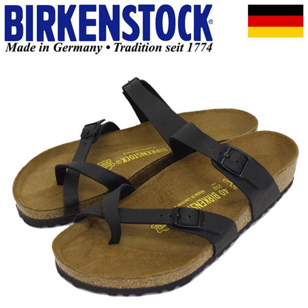 正規取扱店 BIRKENSTOCK (ビルケンシュトック) GC MAYARI (マヤリ) BF サンダル レギュラー(幅広) BLACK BI068