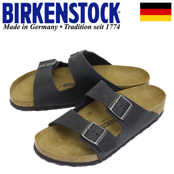 正規取扱店 BIRKENSTOCK (ビルケンシュトック) GC552111 ARIZONA アリゾナ サンダル レギュラー(幅広) BLACK BI116