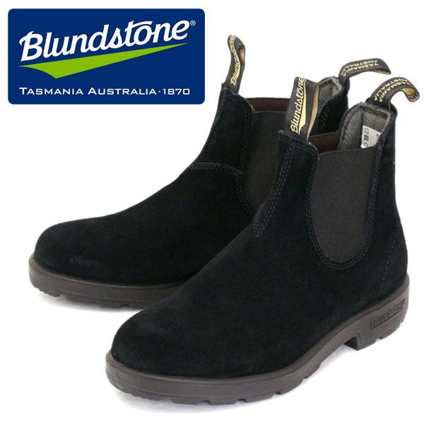 正規取扱店 Blundstone (ブランドストーン) BS1455009 ORIGINALS オリジナル サイドゴア スウェード レザーブーツ BLACK BS005