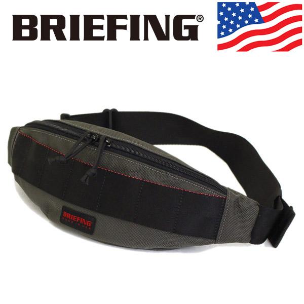 正規取扱店 BRIEFING (ブリーフィング) BRF071219-011 TRIPOD トライポッド ボディーバッグ STEEL BR438