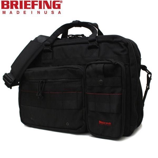正規取扱店 BRIEFING(ブリーフィング) BRF117219 B4 OVER TRIP(B4オーバートリップバッグ) BLACK BR063