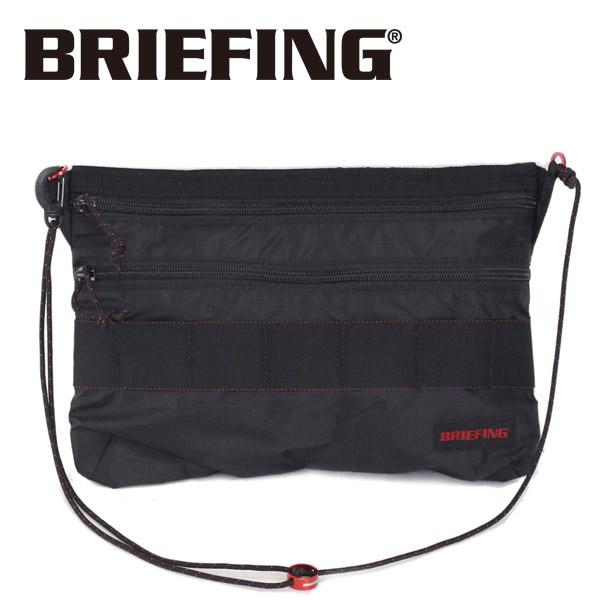 正規取扱店 BRIEFING (ブリーフィング) BRM181205-010 SACOCHE M SL PACKABLE (サコッシュ M SL パッカブル) BLACK BR367