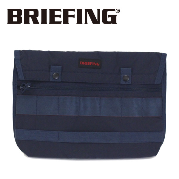 正規取扱店 BRIEFING (ブリーフィング) BRM181604 FLAP 11 MW フラップ ドキュメントケース NAVY BR388