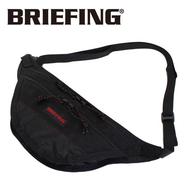 正規取扱店 BRIEFING (ブリーフィング) BRM183208 TRAVEL SLING SL PACKABLE トラベルスリング パッカブル BLACK BR417