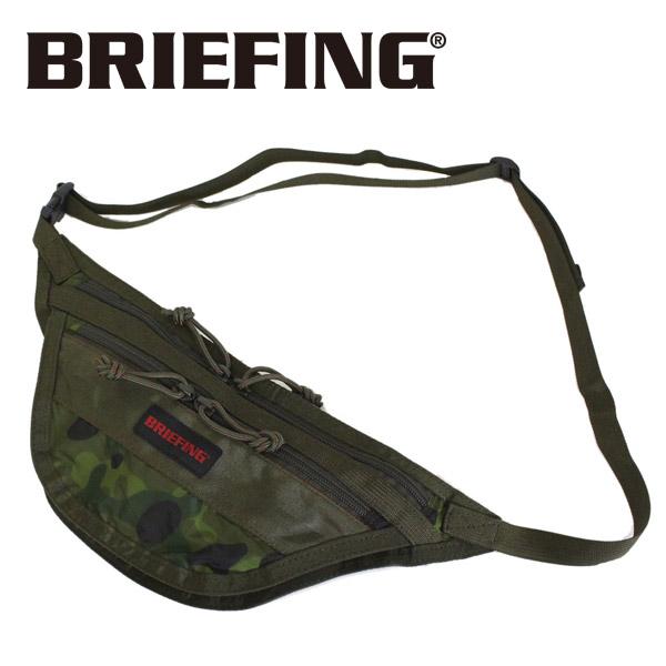 正規取扱店 BRIEFING (ブリーフィング) BRM183208 TRAVEL SLING SL PACKABLE トラベルスリング パッカブル TROPIC CAMOUFLAGE BR418