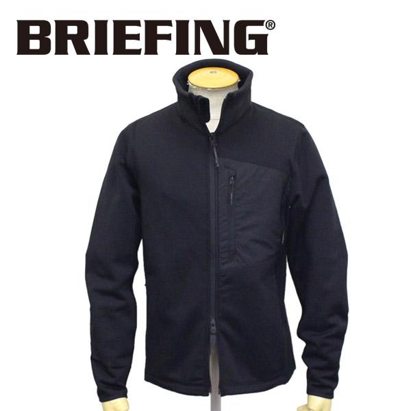 正規取扱店 BRIEFING (ブリーフィング) BRM201M04 POLARTEC HIGHNECK ポーラテック クリティカル ハイパーストレッチ ハイネックフリース 010 BLACK BR492