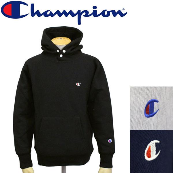 正規取扱店 Champion (チャンピオン) C3-L108 ReverseWeave STORMSHELL HOODED SWEAT ストームシェル フーデッドスウェットシャツ 全3色 CN013