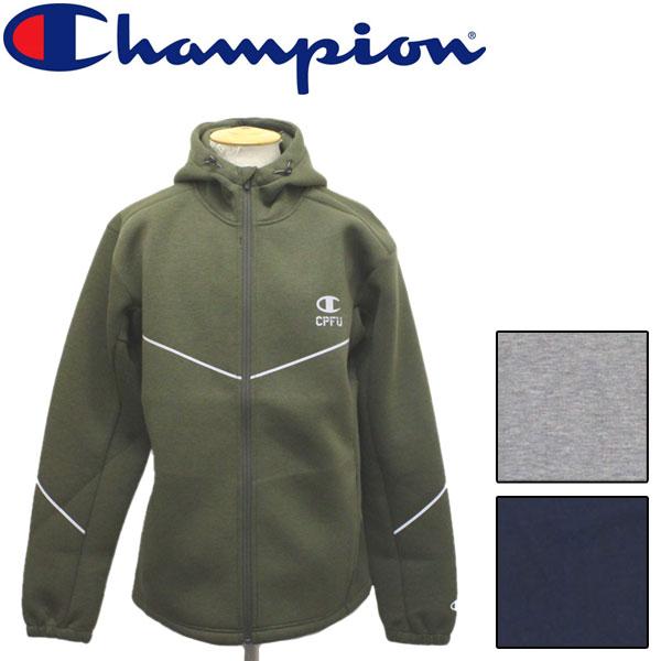 sale セール 正規取扱店 Champion (チャンピオン) C3-QS020 WRAP-AIR JACKET ジャケット ジップパーカー 全3色 CN031