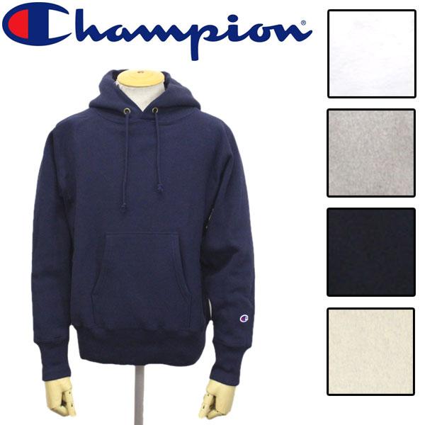 正規取扱店 Champion (チャンピオン) C3-W102 REVERSE WEAVE PULLOVER HOODED SWEATSHIRT リバースウィーブ スウェットパーカー 全5色 CN022