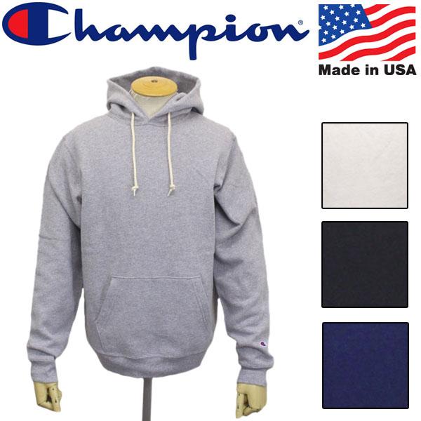 正規取扱店 Champion (チャンピオン) C5-P101 PULL OVER HOODED SWEAT SHIRT プルオーバー フーデッド スウェット シャツ アメリカ製 全4色 CN035
