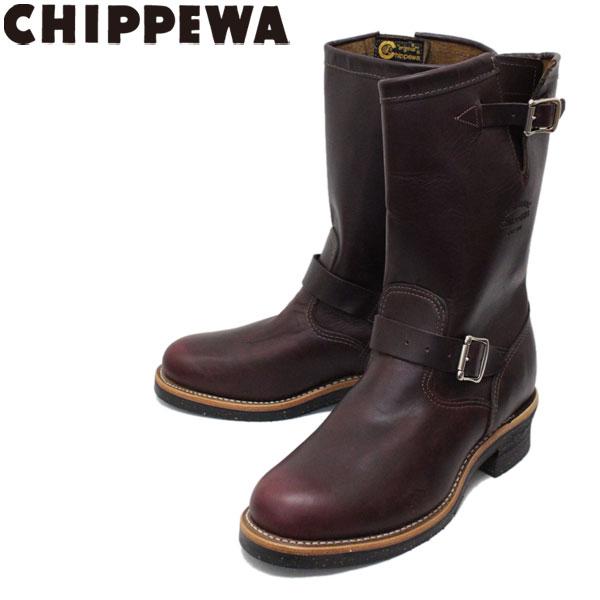 正規取扱店 CHIPPEWA (チペワ) 1901M49 11inch ORIGINAL ENGINEER BOOTS 11インチ プレーントゥ エンジニアブーツ CORDOVAN