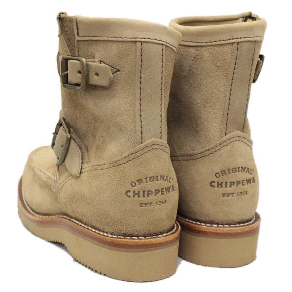 正規取扱店 CHIPPEWAチペワ1901W09 Women's 7inch Highlanders 7インチハイランダーズ モックトゥ・ショートエンジニアブーツレディース Khaki13TlcJuKF