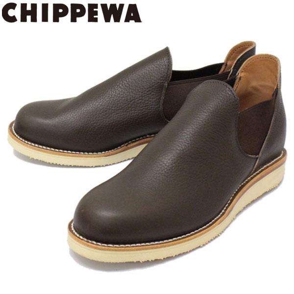 正規取扱店 CHIPPEWA (チペワ) 1967 ORIGINAL CHIPPEWA ROMEO BOOTS ロメオ サイドゴアブーツ COFFEE