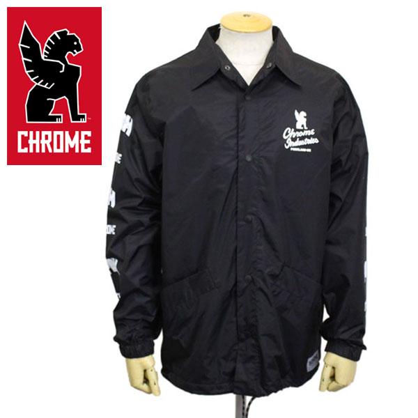 正規取扱店 CHROME (クローム クロム) JP070 7STARS QUALITY PDX ED. COACH JACKET セブンスターズクオリティ ポートランド エディション コーチジャケット BLACK CH188