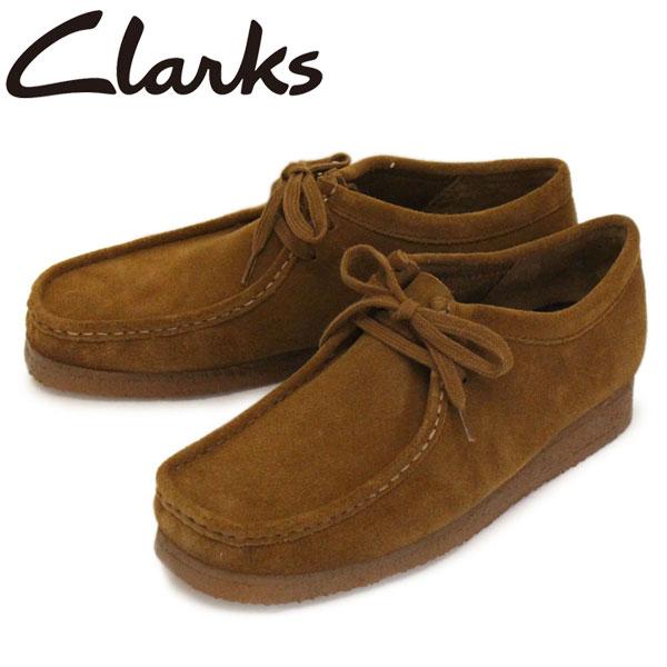 正規取扱店 Clarks (クラークス) 26133280 Wallabee ワラビー メンズシューズ Cola Suede CL002