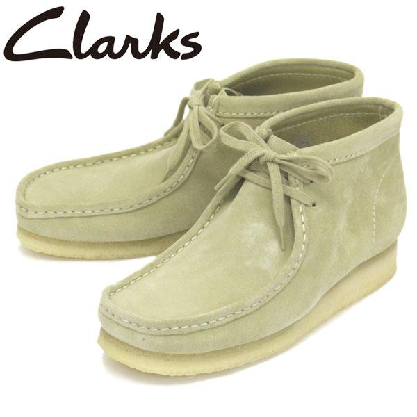 正規取扱店 Clarks (クラークス) 26133283 Wallabee Boot ワラビーブーツ メンズブーツ Maple Suede CL004