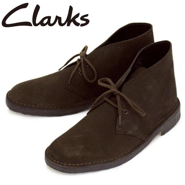 正規取扱店 Clarks (クラークス) 26138229 Desert Boot デザートブーツ メンズブーツ Brown Suede CL008